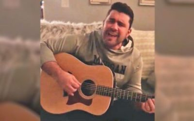 JOSH GRACIN TRANSFORMS CURRENT POP HIT INTO SMOOTH COUNTRY SLOW JAM
